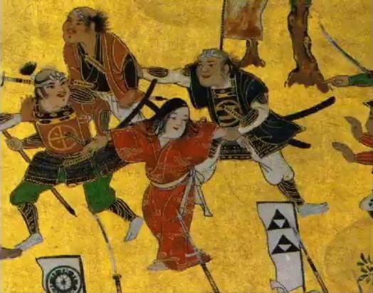 大坂夏の陣図屏風左隻07.JPG